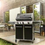 barbecue weber genesis e-310 black live oak bbq