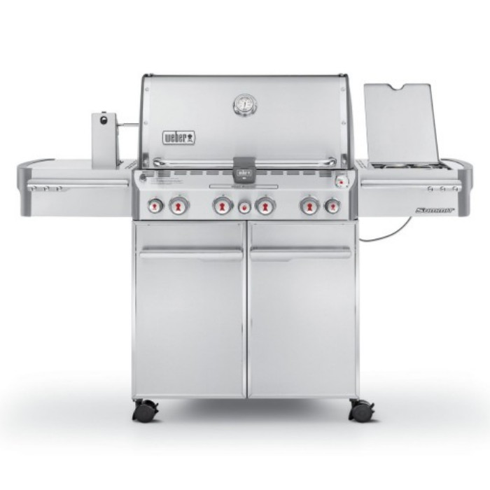 BARBECUE SUMMIT S-470 GBS INOX cod. 7170029