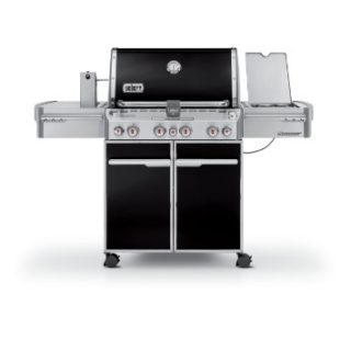 SUMMIT E-470 GBS BLACK liveoakbbq 1