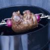 Girarrosto per barbecue a Carbone diam cm 57