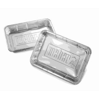 vaschette alluminio weber