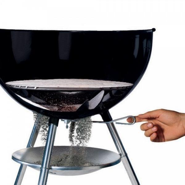 barbecue weber original kettle diam 47 con ciminiera di accensione. Black Bedroom Furniture Sets. Home Design Ideas