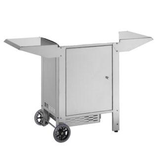 Carrello CHIUSO con Porta Bombola per Barbecue Planet MOMA 70