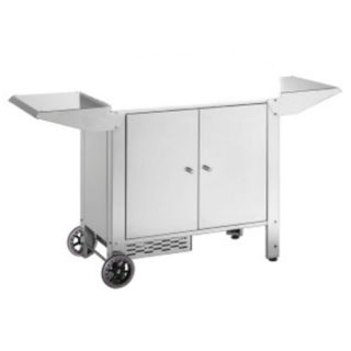 Carrello Chiuso con Porta Bombola per Barbecue Planet Chef 80