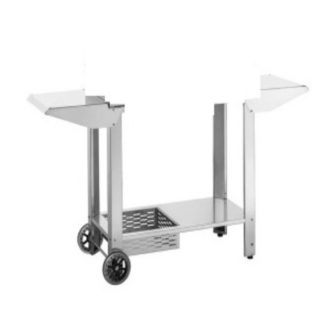 Carrello aperto con Porta Bombola per Barbecue Planet Clas 80MIX Cod. CAPB.80