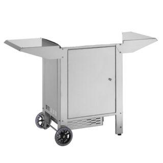 Carrello Chiuso con Porta Bombola per Barbecue Planet Clas 55