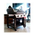 Barbecue GENESIS II E-310 GBS BLACK cod. 61010129 4