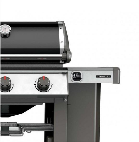 barbecue genesis ii e 410 gbs black. Black Bedroom Furniture Sets. Home Design Ideas