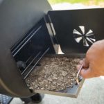 CHARCOAL OFFSET Affumicatore e barbecue orizzontale a carbone o legna