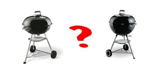 BBQ A CARBONE WEBER : la gamma, la scelta !