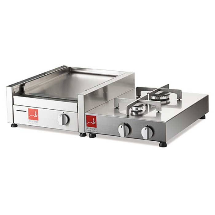 BARBECUE Airone SERIE 30 base con 2 fuochi