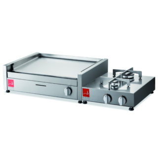BARBECUE Airone SERIE 60 base con 2 fuochi