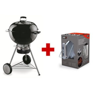 Barbecue Weber MASTER-TOUCH PACK con kit ciminiera !