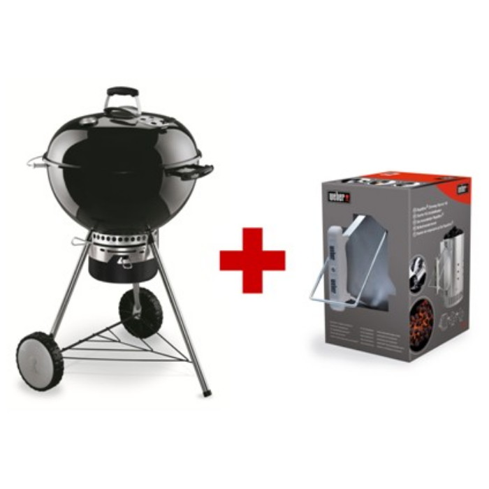 Barbecue weber master touch pack con kit ciminiera for Weber master touch