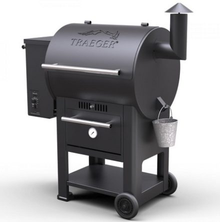 BARBECUE TRAEGER CENTURY SERIES 22 BLACK