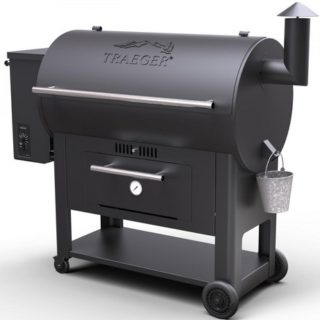 BARBECUE TRAEGER CENTURY SERIES 34 BLACK