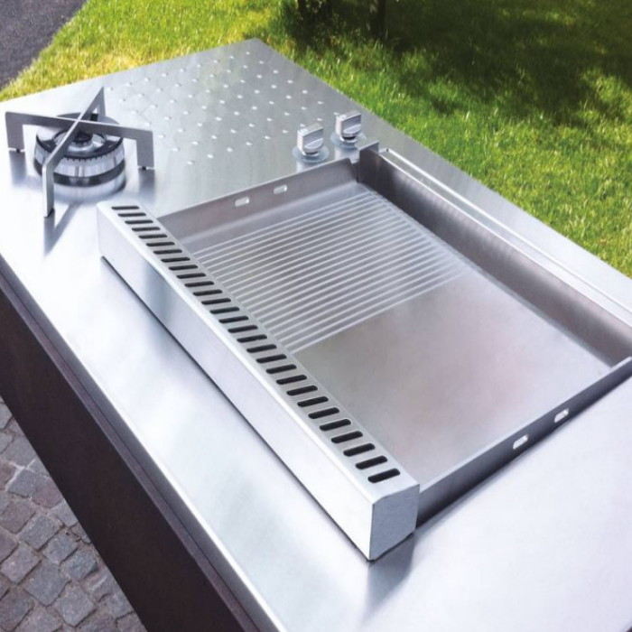 Barbecue PLANET AD INCASSO serie OASI 55 DUAL cod. IN.55 DUAL