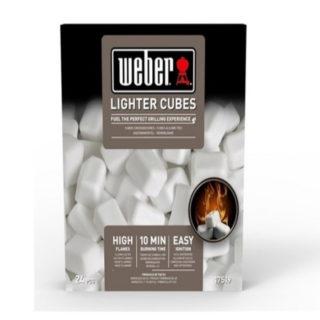 Cubetti accendifuoco Weber standard