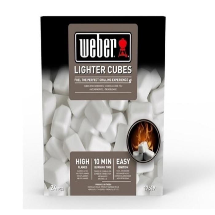 Cubetti accendifuoco Weber standard 17519