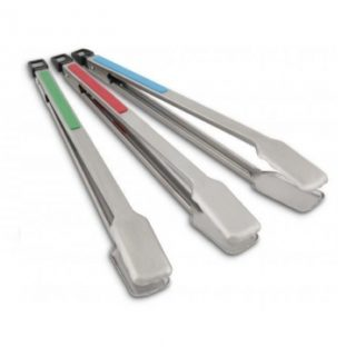 Set 3 pinze manico colorato Broil king