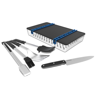 set posate porta chef broil king