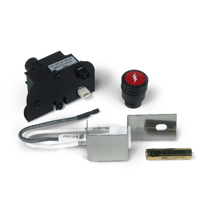 kit piezoelettronico elettrodo weber bbq serie q 120 1200 220 e 2200. Black Bedroom Furniture Sets. Home Design Ideas