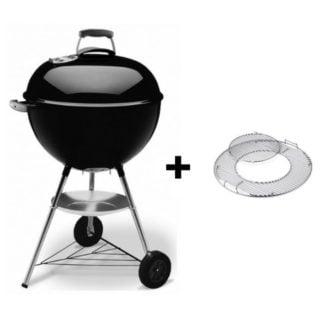 bar b kettle weber gbs charcoal grill 57 cm cod. 1331504