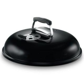 coperchio nero Weber con foro termometro diam 47 cod. 65178