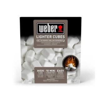 cubetti accendifuoco Weber cod 17670