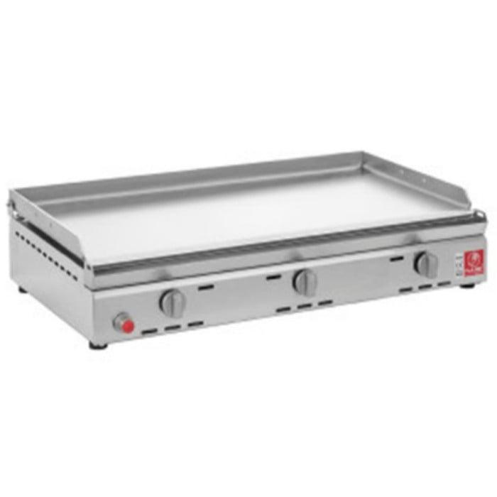 Piastra di ricambio per barbecue planet serie 80 - Piastra in acciaio inox per cucinare ...