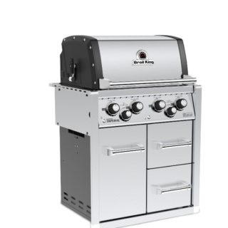 Barbecue Broil King IMPERIAL 490 DA INCASSO CON MOBILETTO 101.956483