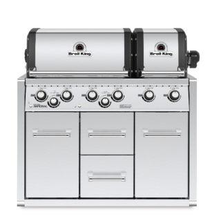 Barbecue Broil King IMPERIAL 690 da incasso con mobiletto 101.957483