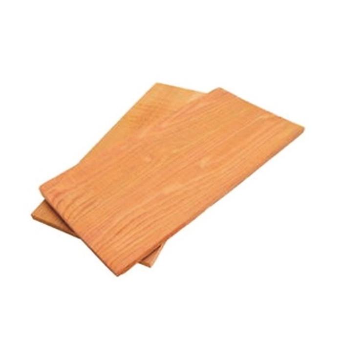 Placca di legno in cedro 3 pezzi outdoorchef per insaporire for Cabine laterali in legno di cedro