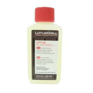 Gel combustibile a base di etanolo Lotus Grill da 200 ml