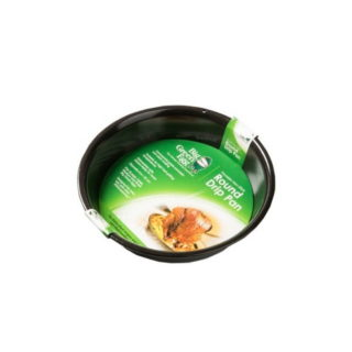 Teglia rotonda antiaderente per Big Green Egg BGE 9R