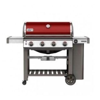 BBQ WEBER GENESIS II E-410 RED ROSSO DI LIVEOAKBBQ