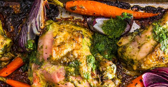 Pollo arrosto sulla griglia – Ricetta Traeger