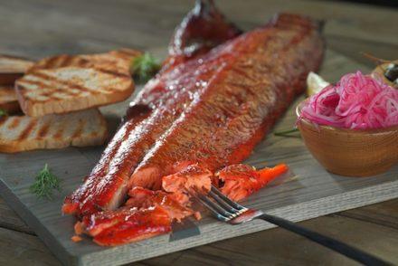 Salmone affumicato – Ricetta Traeger