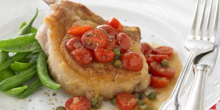 Filetti di maiale impanati a secco con salsa di pomodoro – Ricetta Weber