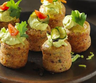 Muffin vegetariani – Ricetta Outdoorchef