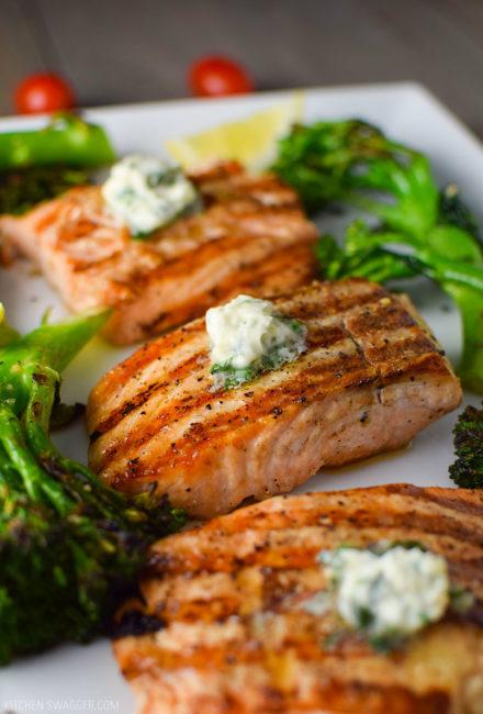 Salmone grigliato con salsa allo zenzero – Ricetta Broil King