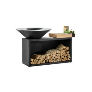 Barbecue OFYR ISLAND BLACK con piastra diam 100
