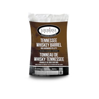 Sacco Pellet Tennessee Whiskey Barrel Louisiana Grills 18 kg