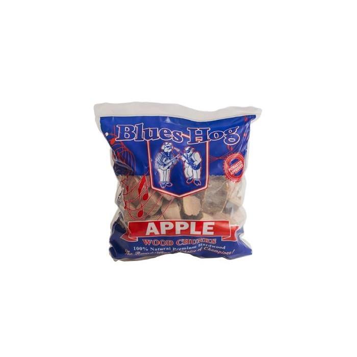 wood chunks apple blues hog