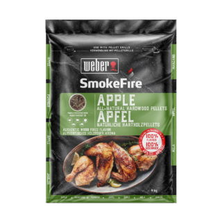 Weber Smokefire pellet apple