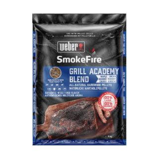 Weber Smokefire pellet grill academy blend