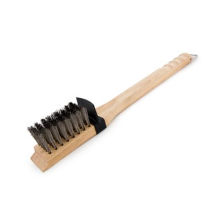 Broil king spazzola con setole in legno