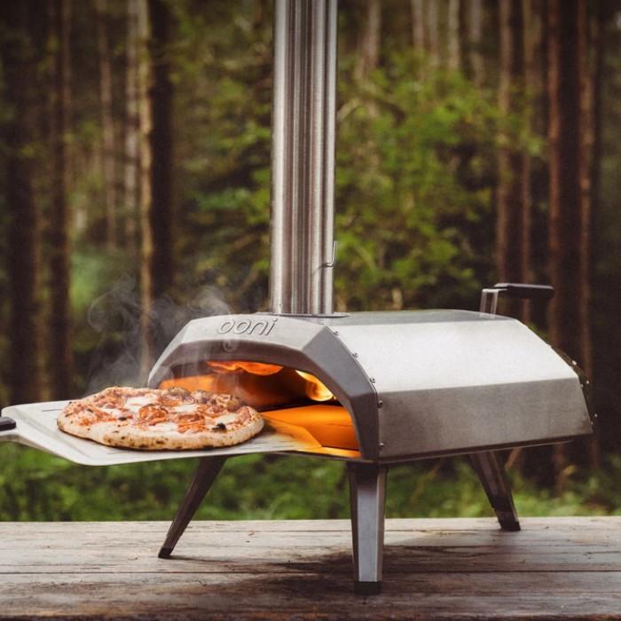 FORNO PIZZA PORTATILE a legna / carbone KARU
